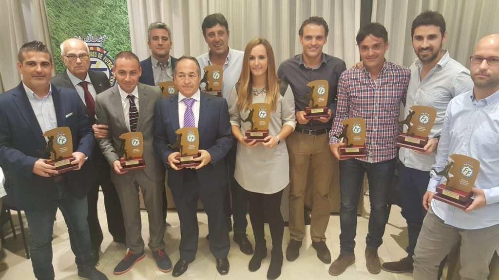 Técnicos premiados | Foto: FFCV