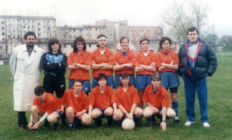 Selección FFCV Femenina en 1989 | Foto: Familia Paco Polit