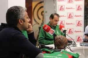 Enrique Francés entrenador del Fb Alfara del Patriarca | FOTO: Ángel Ferrer