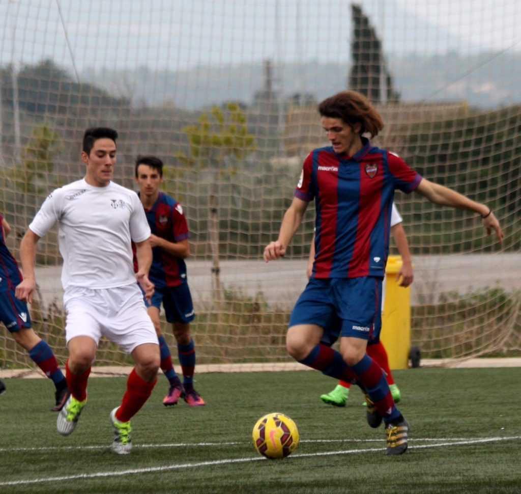 Juvenil Nacional Levante UD 'B' - CF Liria 'A'   Foto: Rafa Pando