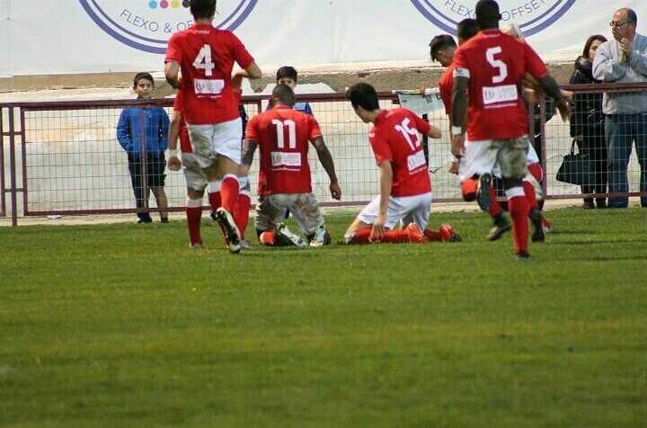 Seth Vega celebrando un gol | Foto: Seth Vega