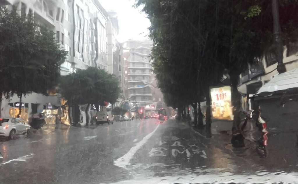 El temporal está azotando Valencia | Foto: Astra MET Valencia