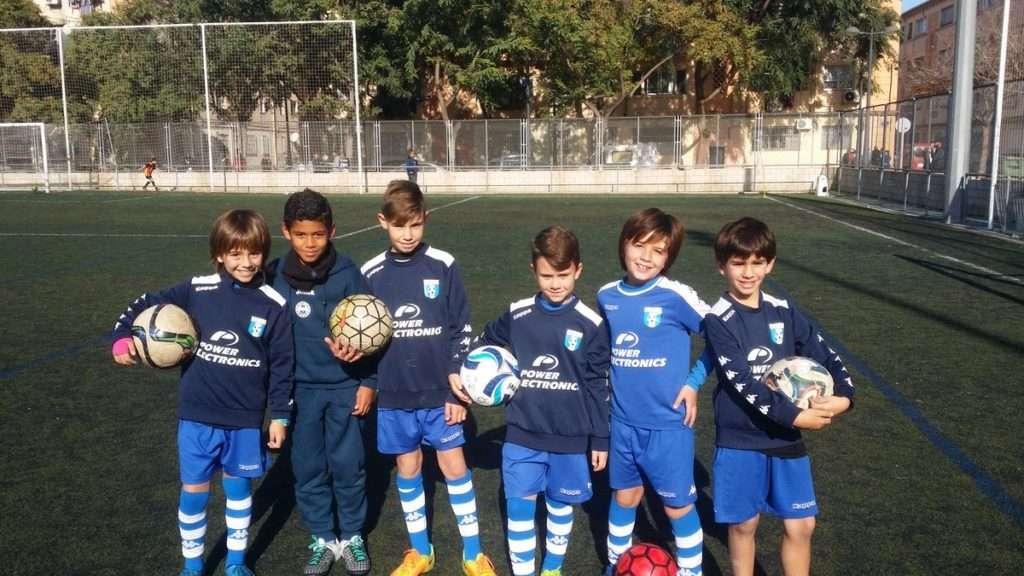 Chavales de la escuela CF San José | Foto: Ricardo Tomás