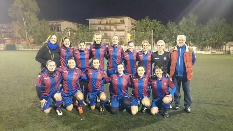 Equipo femenino del Levante UD | Foto: Antonio Descalzo