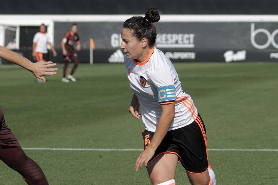 La valencianista Ivana Andrés | Foto: Valencia CF