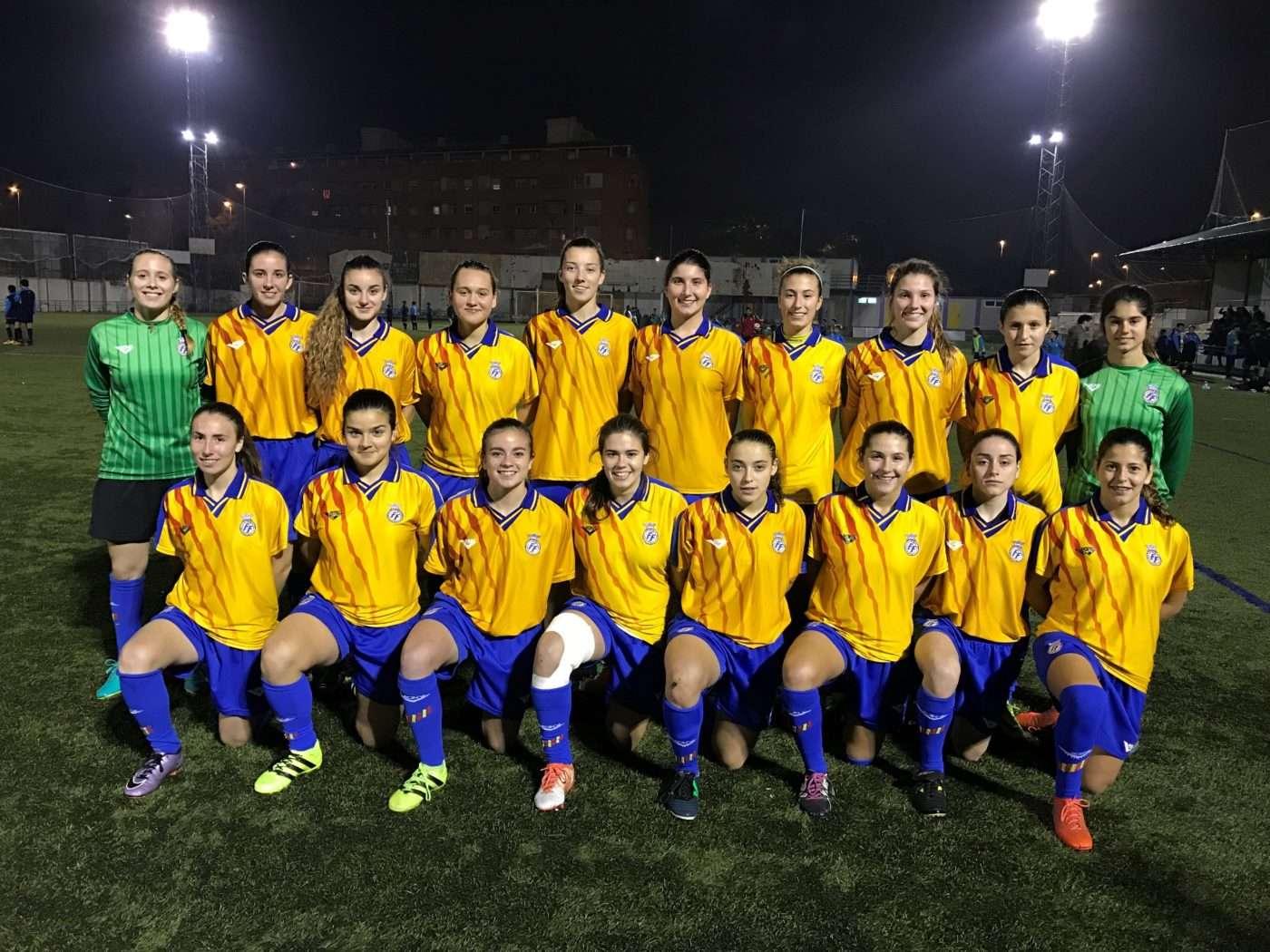 La selecci n ffcv femenina sub 16 y sub 18 medir fuerzas for Federacion valenciana de futbol