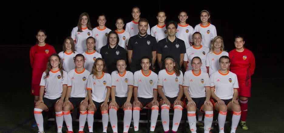 VCF Femenino Cadete-Infantil 'B' | Foto: Valencia CF