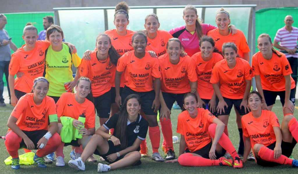 Equipo femenino del Joventut Almassora | Foto: Joventut Almassora