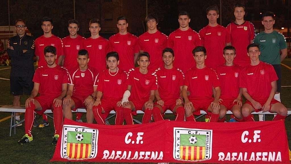 Imagen de archivo del juvenil del Rafalafena | Foto: CF Rafalafena