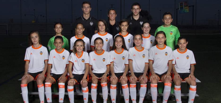 VCF Femenino Base A 2016-2017 | Foto: Valencia CF