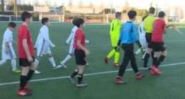 El Infantil del CF La Nucía se midió al Real Madrid en Valdebebas
