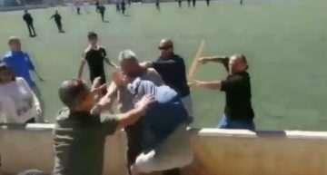 Otra vergüenza más: pelea brutal entre padres en el Alaró-Collerense categoría Infantil (Mallorca)