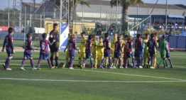 El Villarreal se impuso al Levante en su pelea por la Liga Prebenjamín Grupo 1 ante el Valencia (3-1)