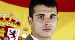 Homenaje del UD Fonteta al soldado fallecido Aarón Vidal el próximo viernes 28