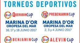 El 9 de junio arranca la Benjamín CUP 2017 en Marina D'Or
