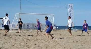 Arrancó en la Patacona la II Liga Autonómica de Fútbol Playa