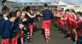 VIDEO: El CF San José homenajea a Iván Vilar, su campeón de España Sub-12