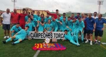 El Barça Cadete se alza con el XI Torcaf de Alzira