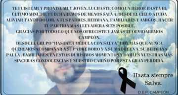 Fallece Salva Delhom, el valencianista que concienció sobre la importancia de ser donante de médula