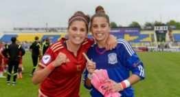 La levantinistas Noelia y Natalia Ramos, campeonas de Europa Sub-19 con España