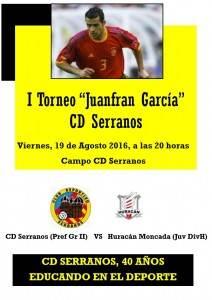 Cartel del 1er Torneo Juanfran García