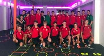 El Cadete C del CD Roda visitó el Gimnasio Urban Sport
