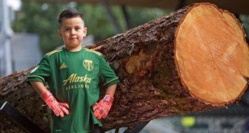 Fichajazo: Derrick Téllez, de 5 años, será portero de los Portland Timbers por un día