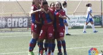 El Levante UD Femenino consigue la victoria ante la UD Granadilla de Tenerife