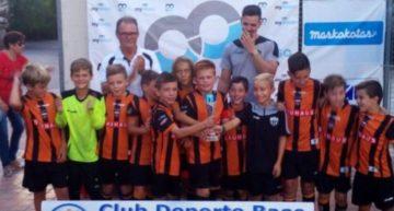 El Patacona Benjamín 'C' se alzó con el Torneo de CDB Massanassa