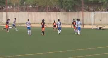 VIDEO: El Kelme logró marcar al Valencia pero cayó en casa ante el líder de Liga Infantil Autonómica (1-2)