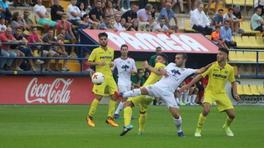 El Villarreal C juvenil consigue la victoria por la mínima ante el CD Roda
