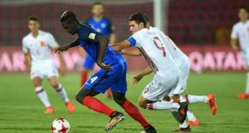 España se mete en cuartos del Mundial Sub-17 tras remontar ante Francia (1-2)
