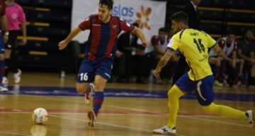 El Levante FS se despide demasiado pronto de la Copa ante el Rivas (5-3)