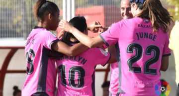 El Levante UD Femenino arrasó en su visita al Rayo Vallecano (0-4)