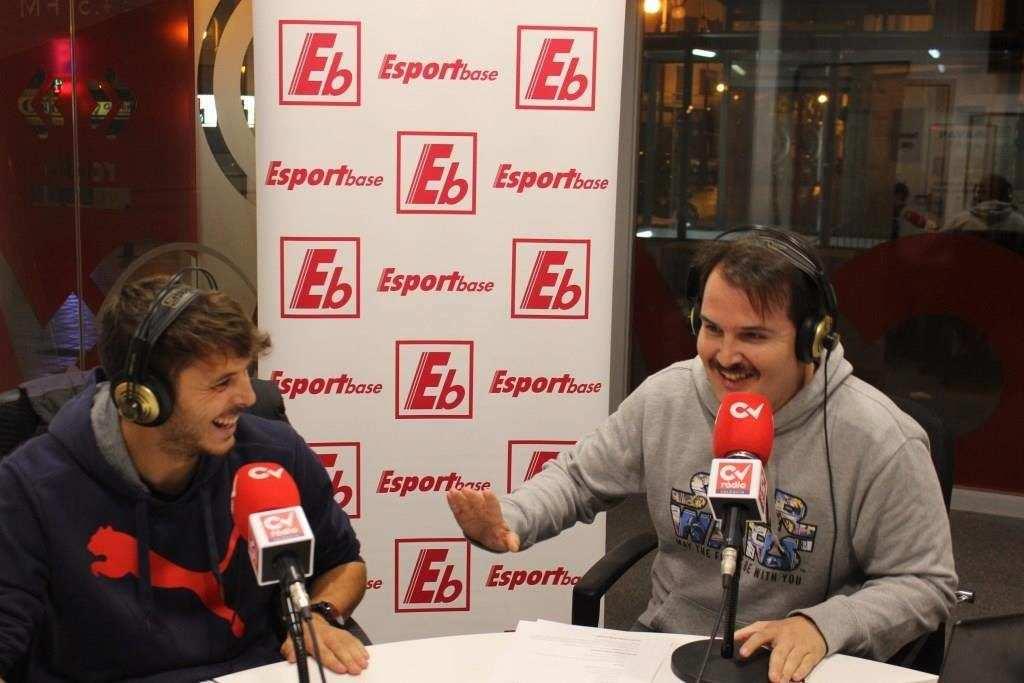 Sergio Ayala en Esportbase | FOTO: Ángel Ferrer