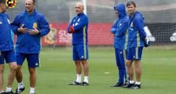 Blesa, Pacheco, Escobar y Campo estarán con España Sub-16