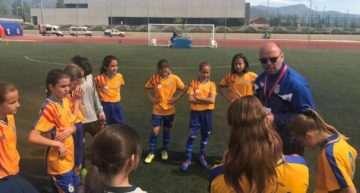 Primer entrenamiento de la temporada para la Selección Femenina Sub-12 en Picassent