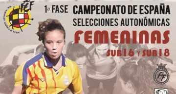 Estas son las jugadoras que representarán a la FFCV Femenina Sub-18 y Sub-16 en los Campeonatos de España