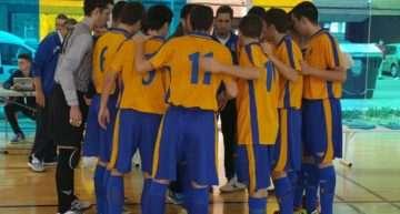 Entrenamiento de las selecciones de fútbol sala FFCV este domingo 17 en Sagunto