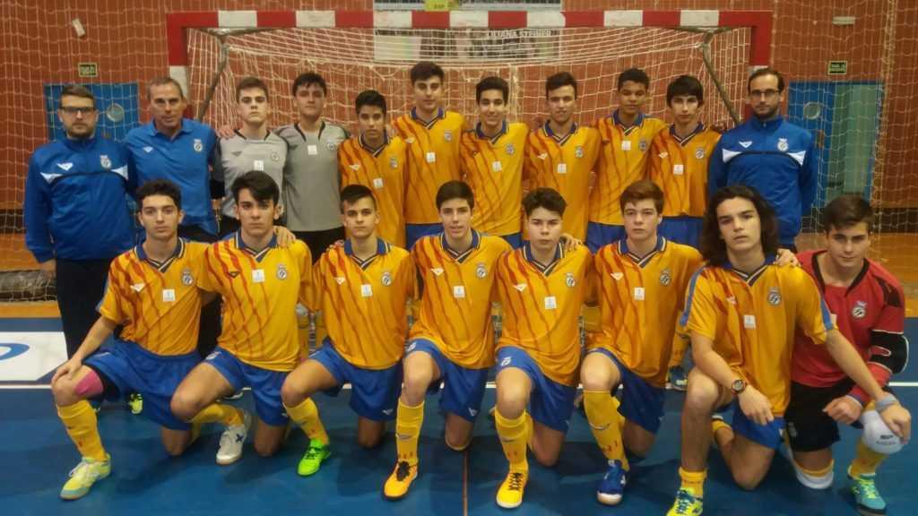 Convocatoria definitiva de la Selección FFCV Sub-16 de fútbol sala en los Campeonatos de España de Salou