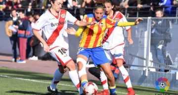 El VCF Femenino cayó peleando ante el Rayo Vallecano (4-2)
