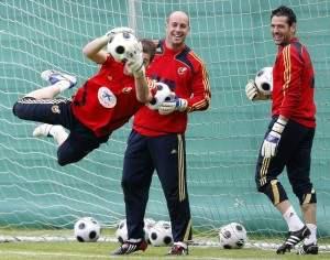 Palop con la Selección | sefutbol.es